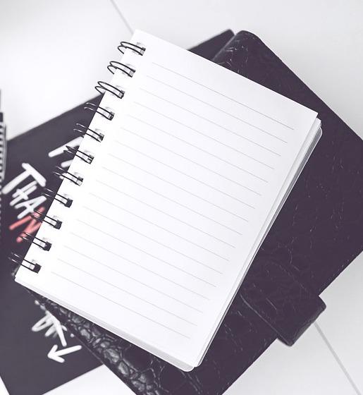 リングが柔らかいノートを見つけました