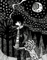 星空と薔薇