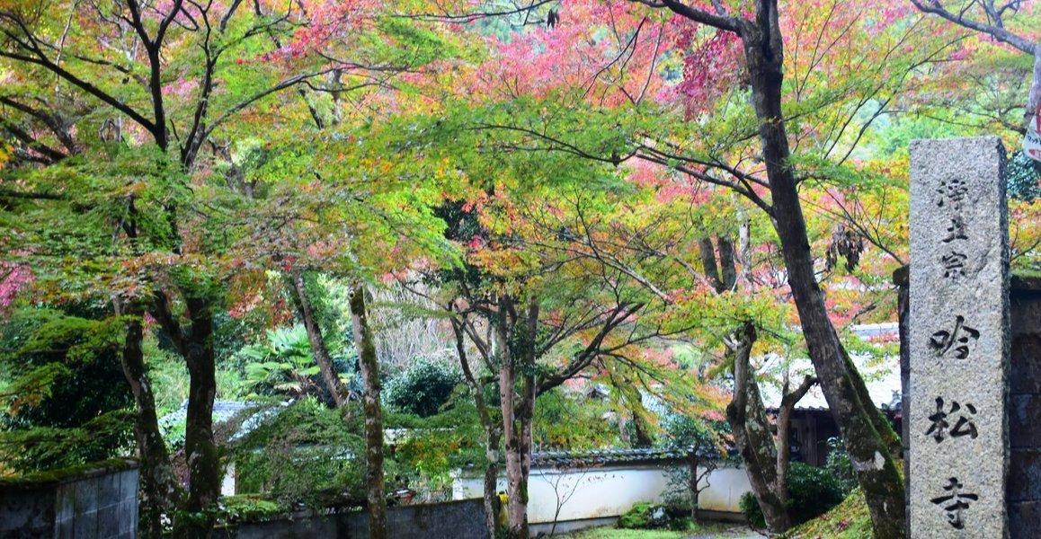 吟松寺の紅葉2008