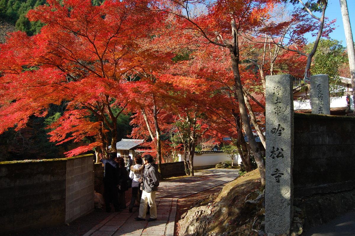 吟松寺の紅葉2007