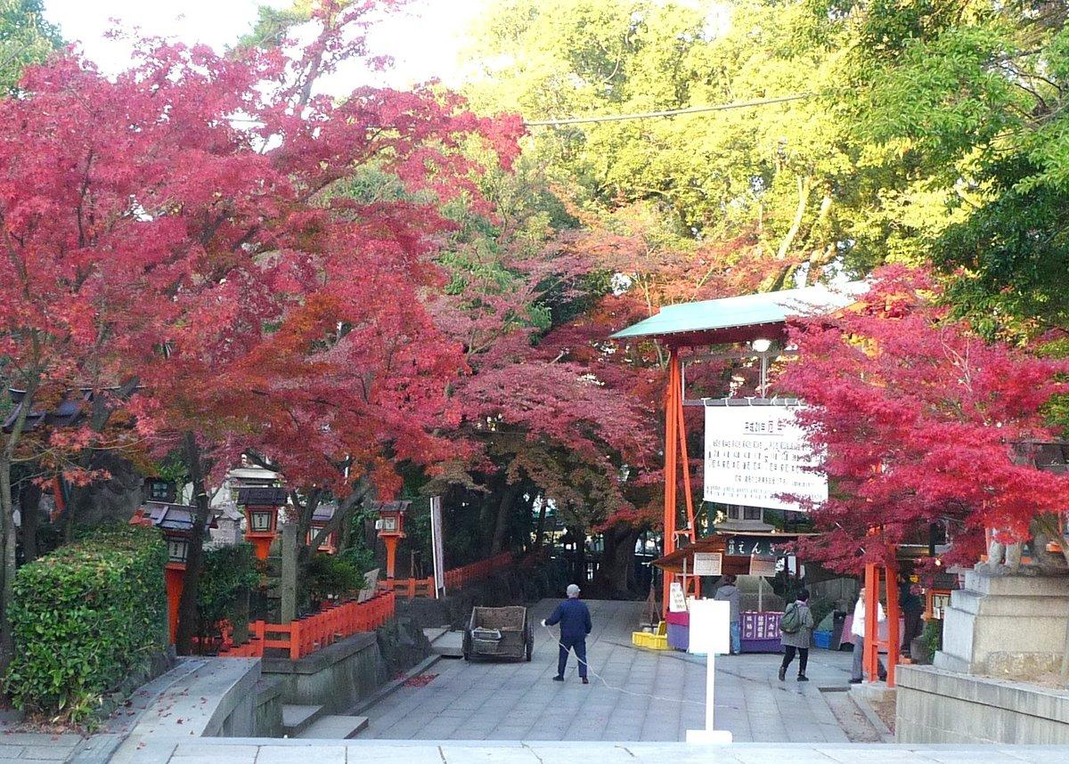 八坂神社の紅葉2009