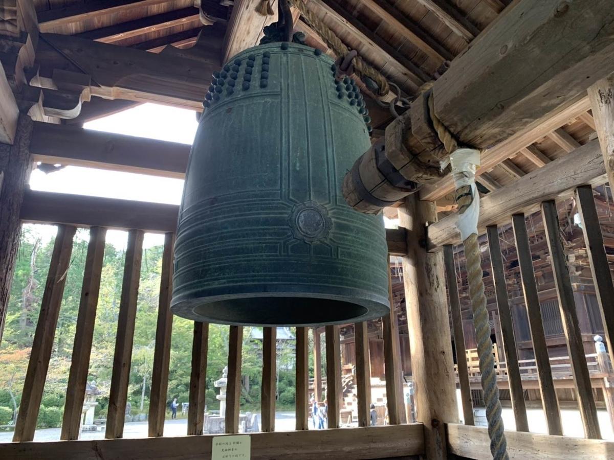 三井寺の梵鐘
