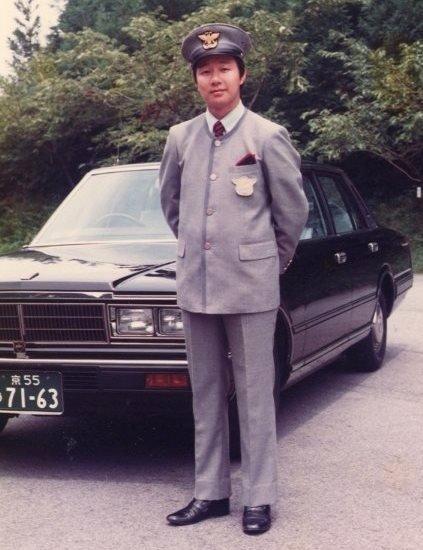 MKタクシーの制服