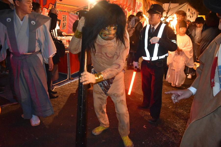 吉田神社の追儺式
