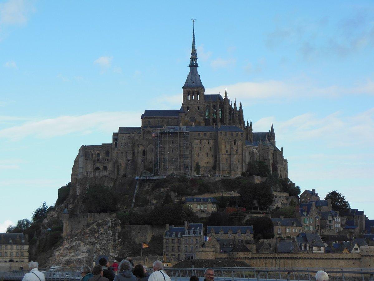 フランスの誇る世界遺産モンサンミッシェル