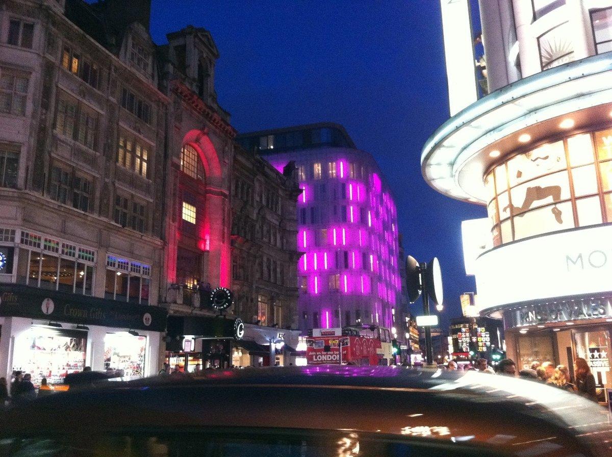 ロンドンの最高の夜