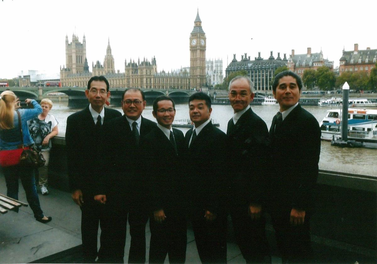 ロンドンで全員集合