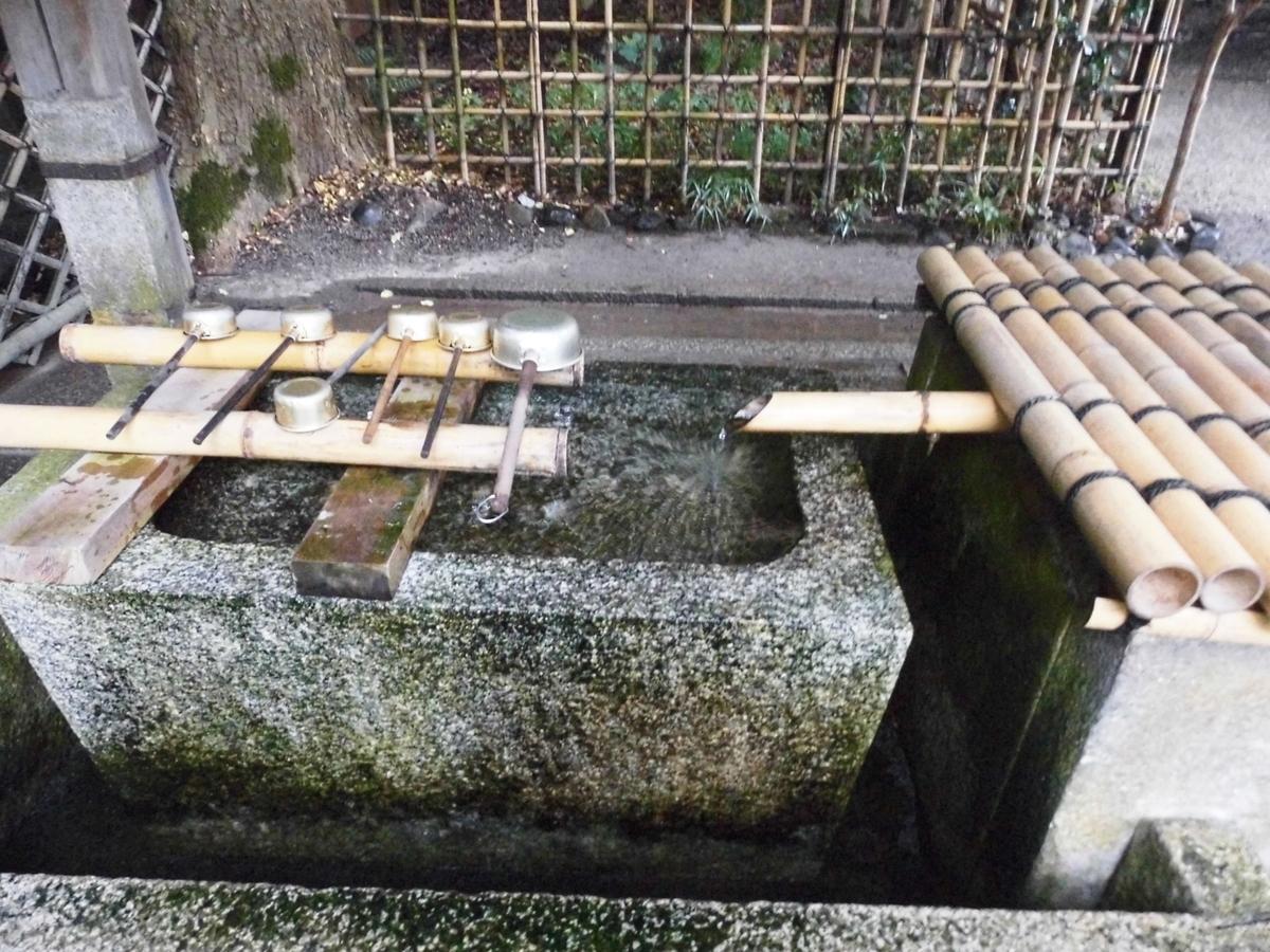染井の水 2016年8月28日 撮影:MKタクシー