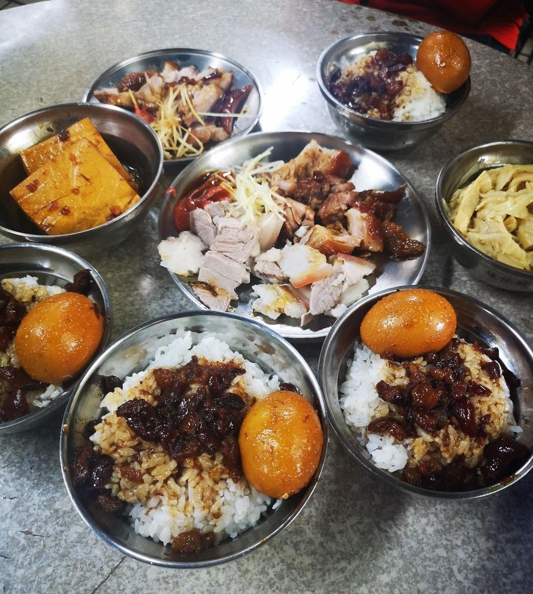 台湾での料理