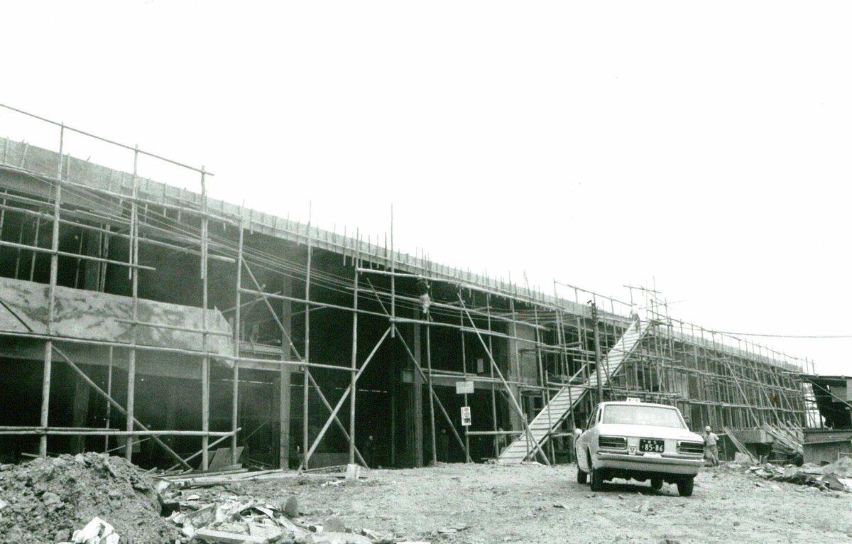 建設中のMKボウル山科