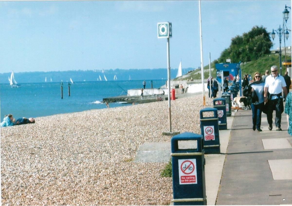 ポーツマスの美しい海岸線