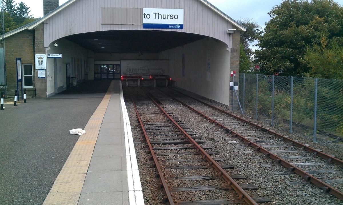 イギリス最北端の駅