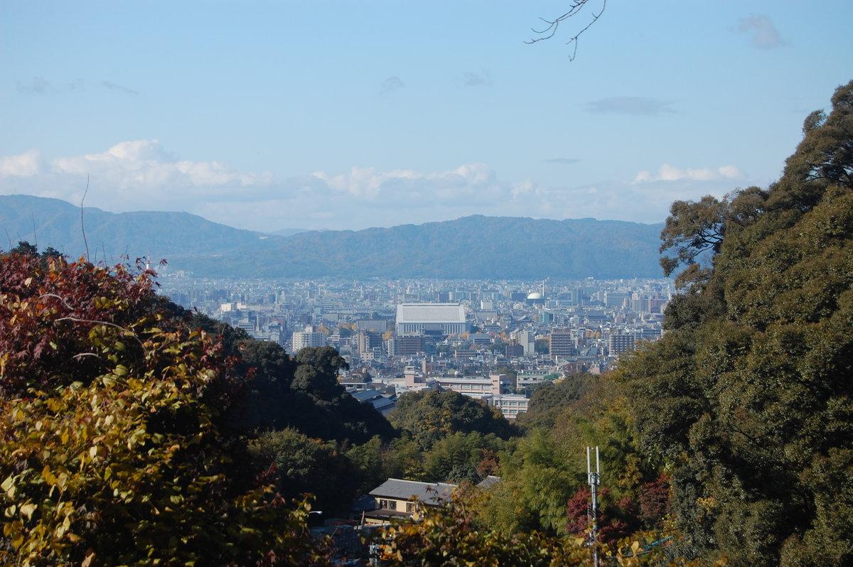 要石からの眺望 2008年11月26日 撮影:MKタクシー