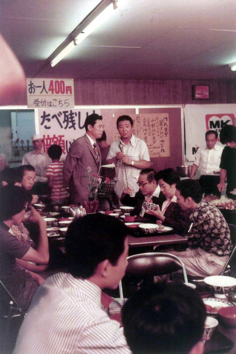 1976年11月 MKバイキング食堂開設(上賀茂・山科)