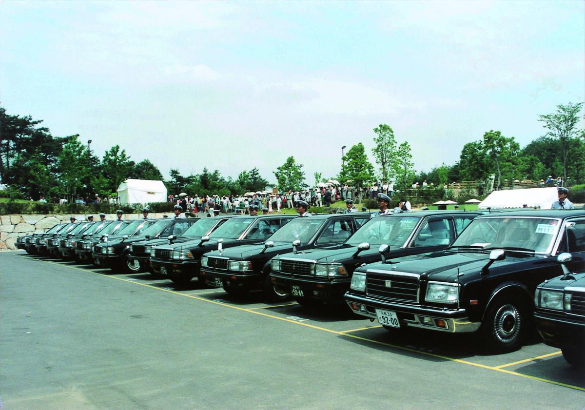 1991年5月 全国植樹祭にMKタクシーが登用される