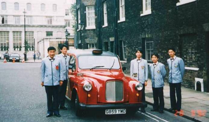 1992年9月 英国留学制度開始