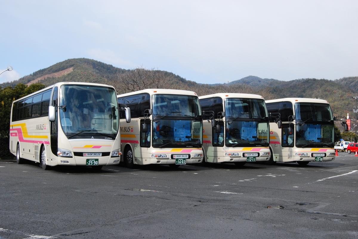 2004年5月 エムケイ観光バス運輸開始