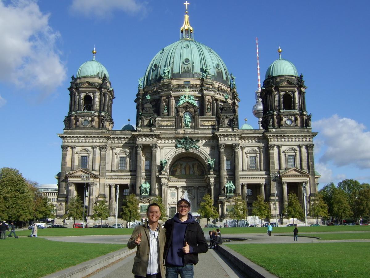 ドイツへ旅行