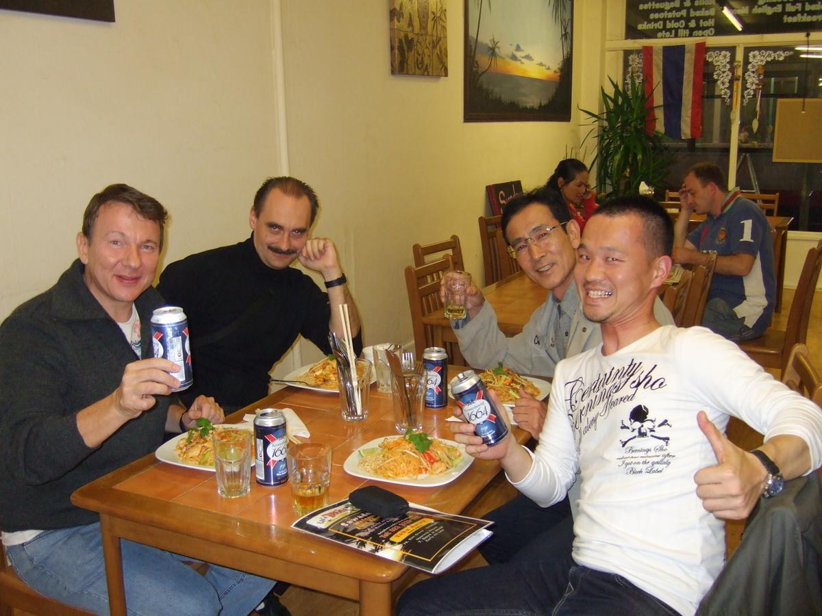 週末のディナー(タイ料理店)