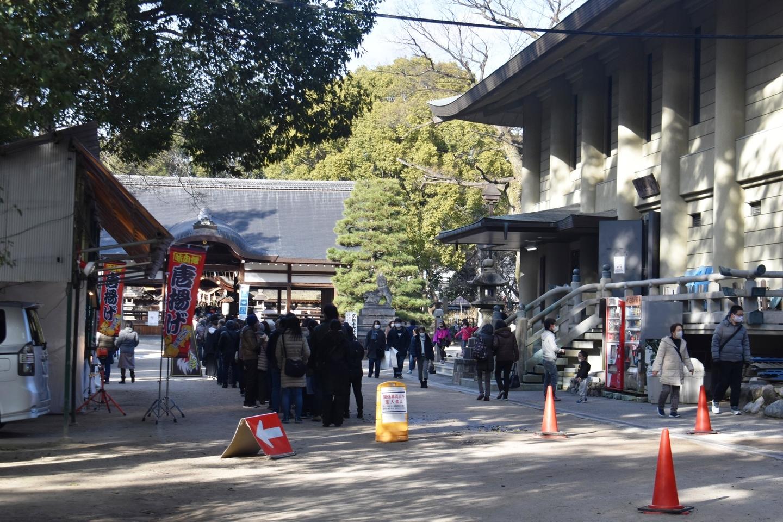 藤森神社 2021年1月2日 撮影:MKタクシー