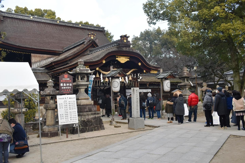藤森神社本殿 2021年1月2日 撮影:MKタクシー
