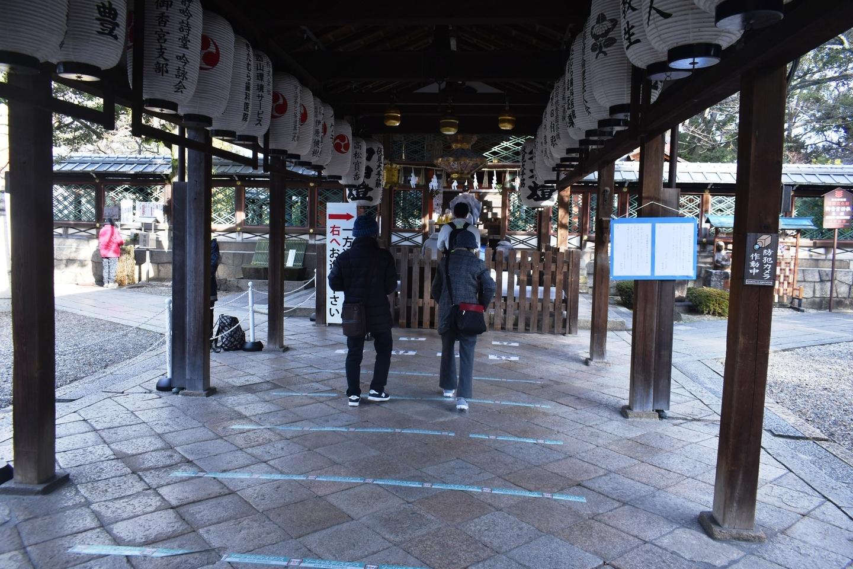 御香宮神社本殿 2021年1月3日 撮影:MKタクシー