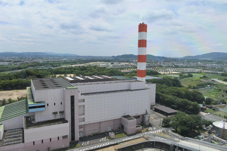 京都市南部クリーンセンター さすてな展望台より西側 2021年6月20日 撮影:MKタクシー