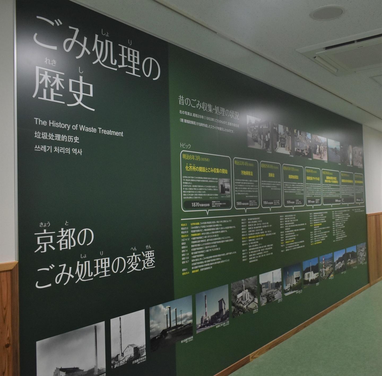 さすてな京都 ごみ処理の歴史 2021年6月20日 撮影:MKタクシー