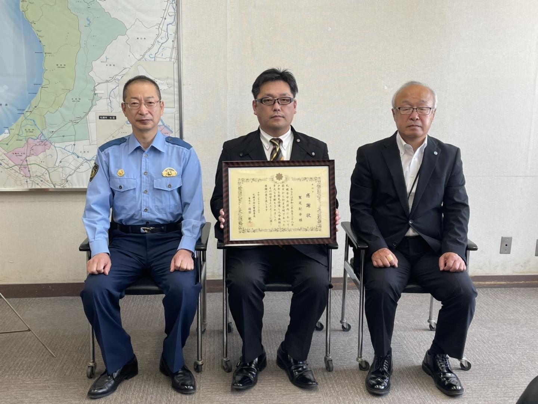 札幌北警察署で表彰 2021年6月25日