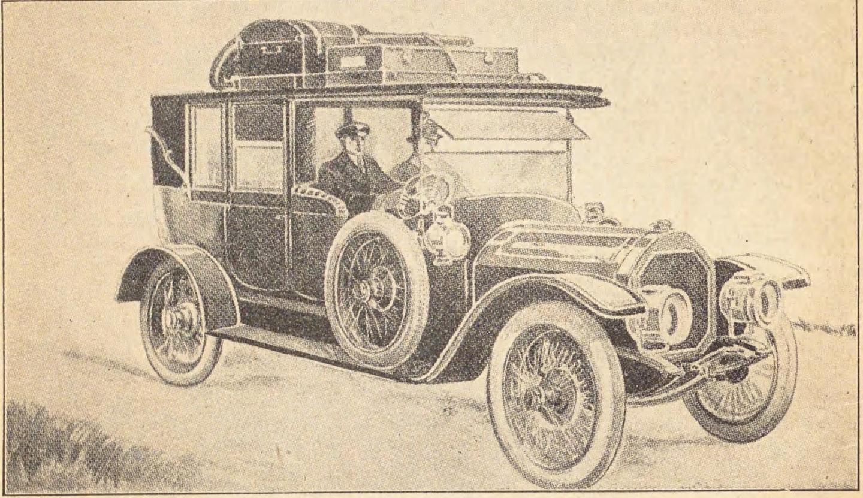 1912年刊行 若月保治「自動車の話」(国立国会図書館デジタルコレクションより)