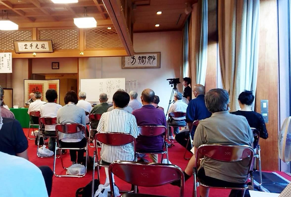 うらぼん法話 2021年8月4日 撮影:MKタクシー
