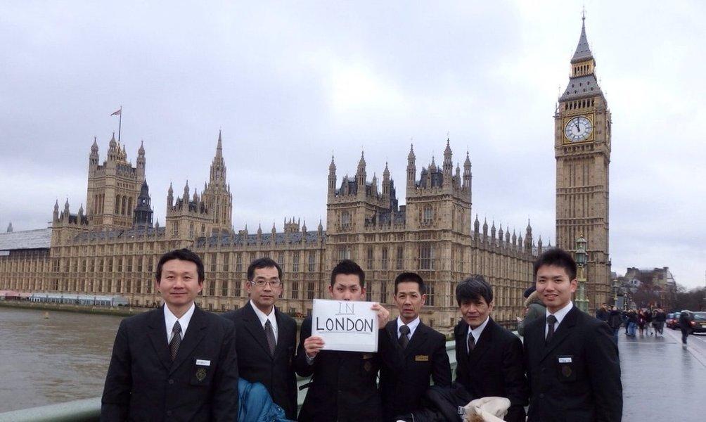 2015年1月~3月にはイギリスへ語学留学に派遣