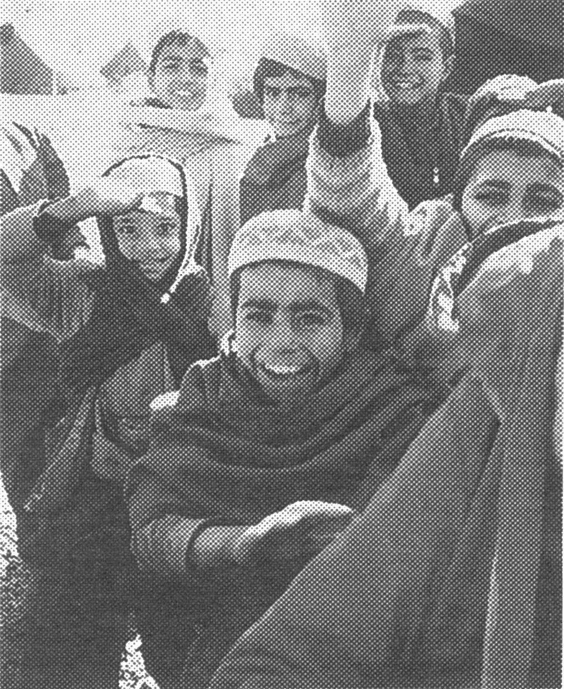 アフガン難民の子供たち