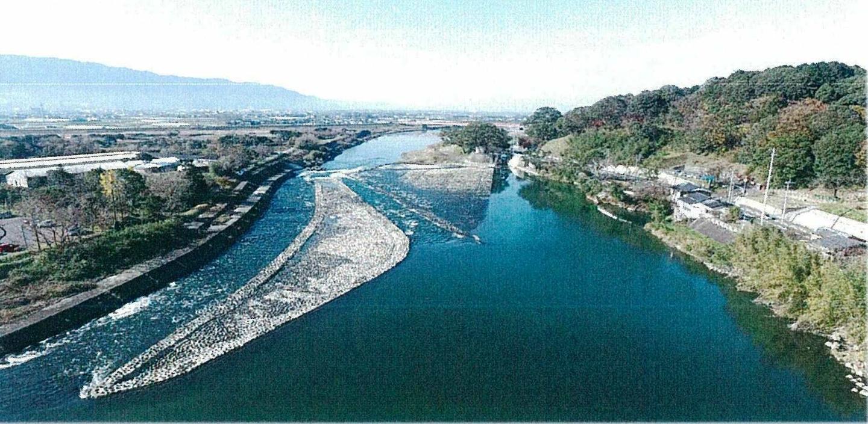 筑後川の山田