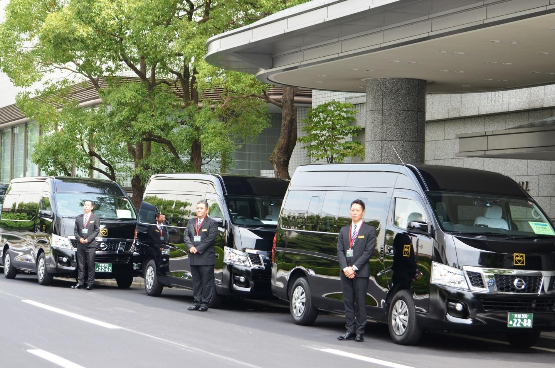 G7関連会合でMKが担当した送迎の様子