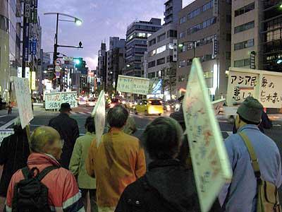 靖国神社国営化阻止月例デモ