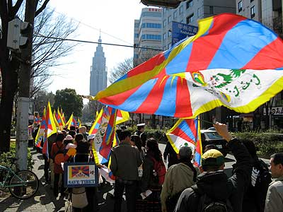 PEACE MARCH for TIBET 2008