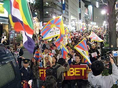 キャンドルマーチ in 渋谷