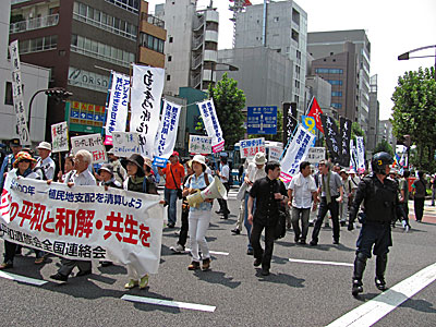 平和遺族会平和行進