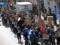 竪川河川敷公園強制封鎖に抗議する江東区役所包囲デモ