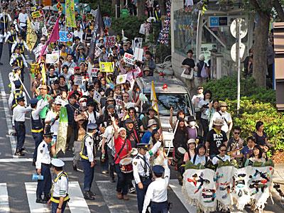 TwitNoNukes 5.27反原発デモ@渋谷・原宿