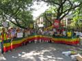 エティオピアの人権侵害に反対するデモ