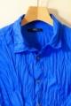 今日の色シャツ/ロイヤルブルー