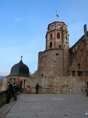 ハイデルベルク城のテラス