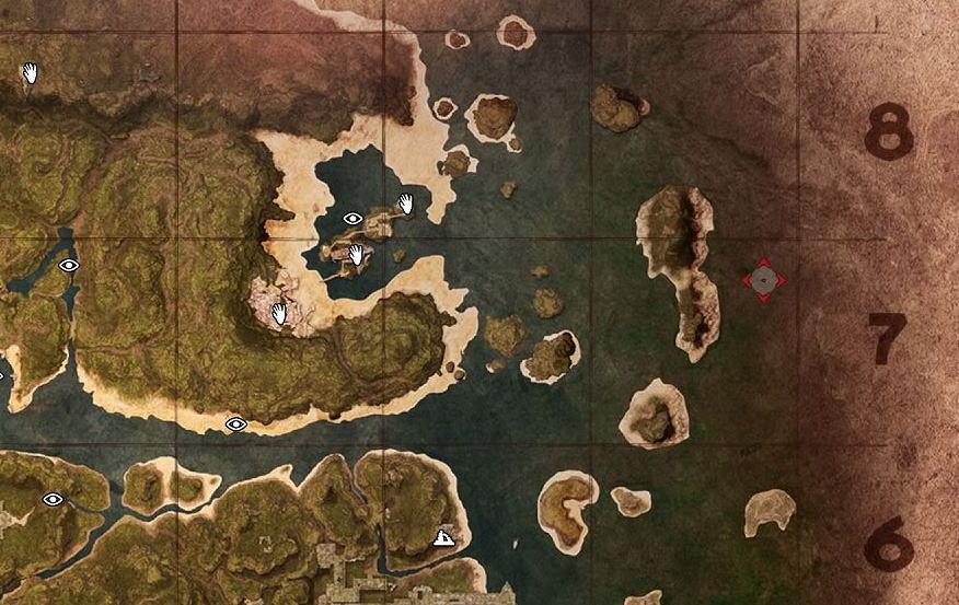 小さな島々
