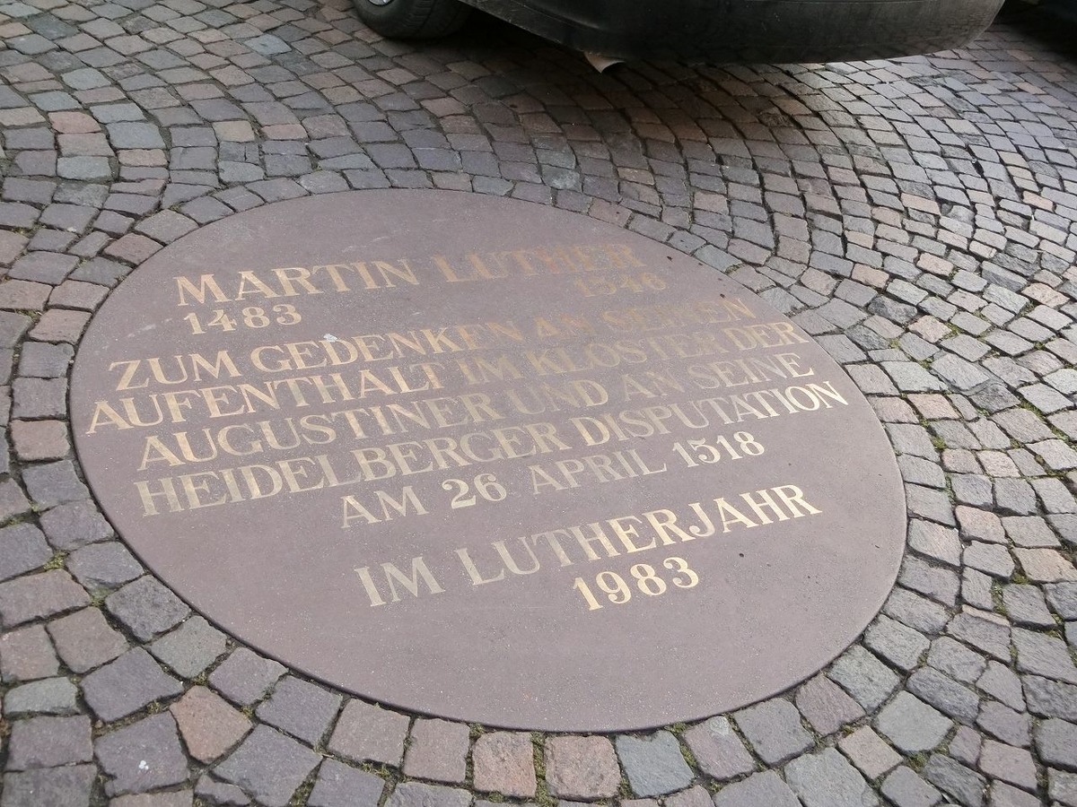 マルティン・ルター記念碑