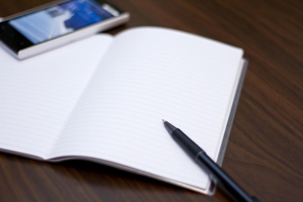 家計簿ノートの写真