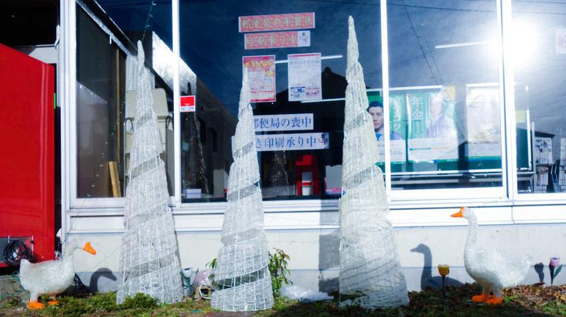 南関町郵便局前平成29年12月13日のアヒル(Lightroom CC で補正後)
