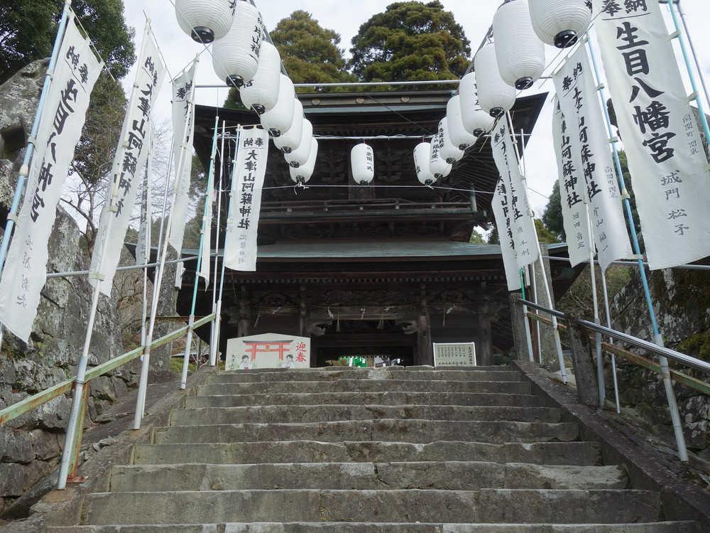 大津山神社1個めの階段
