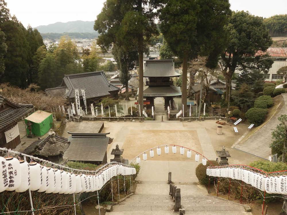 大津山神社からの景色
